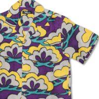 アロハシャツ 老松 紫