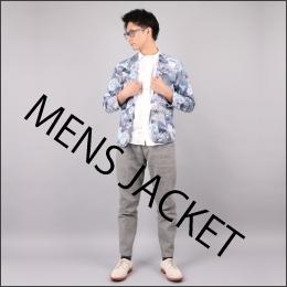 和柄メンズジャケット