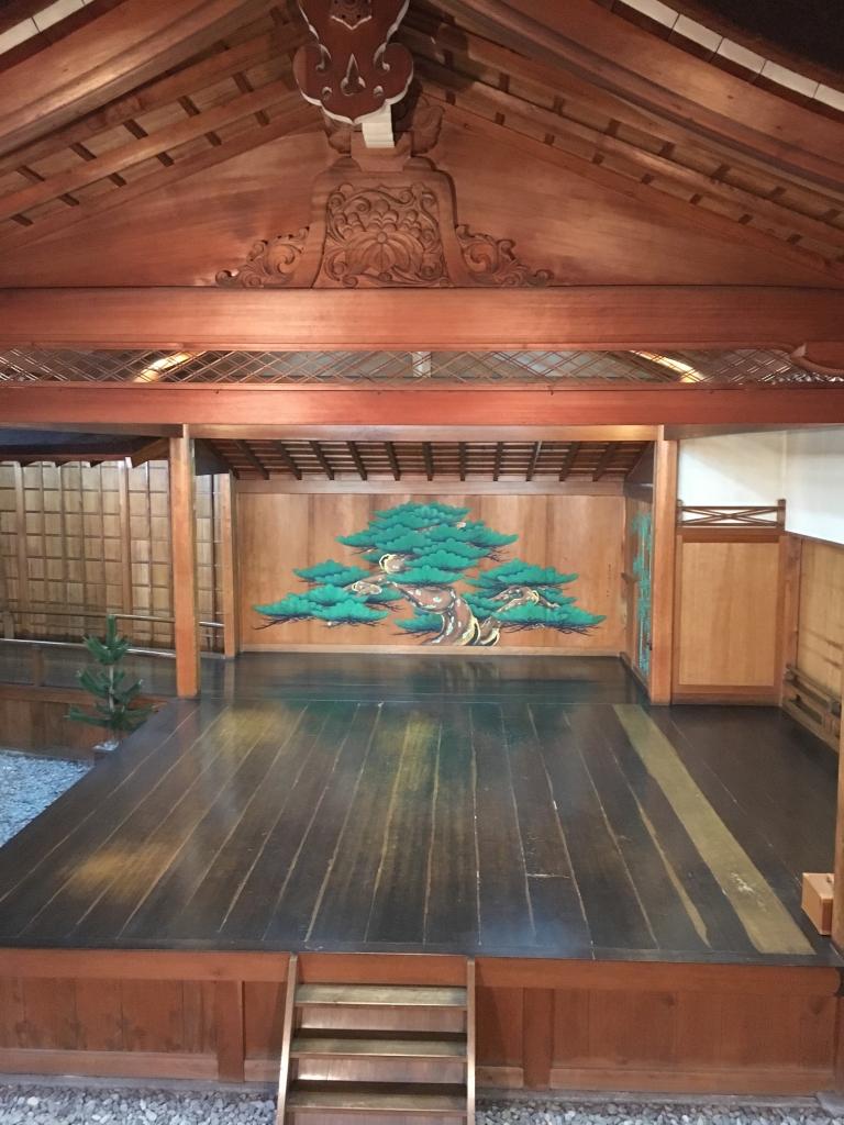 京都 能 舞台