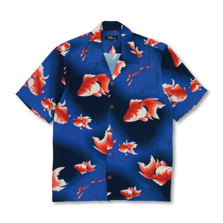 金魚アロハシャツ