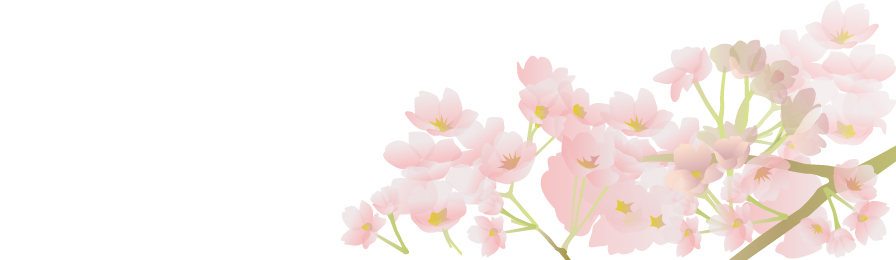 桜柄ワンピース